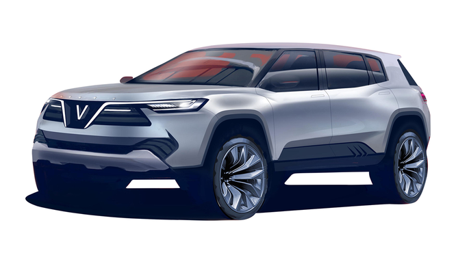 VinGroup công bố 20 mẫu xe hơi thương hiệu VinFast ảnh 31