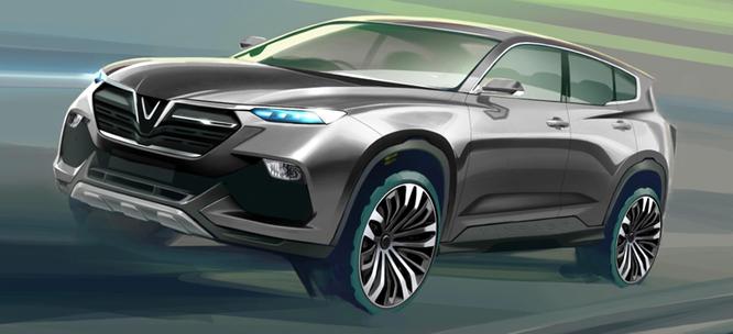 VinGroup công bố 20 mẫu xe hơi thương hiệu VinFast ảnh 34