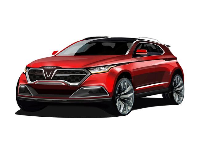 VinGroup công bố 20 mẫu xe hơi thương hiệu VinFast ảnh 37