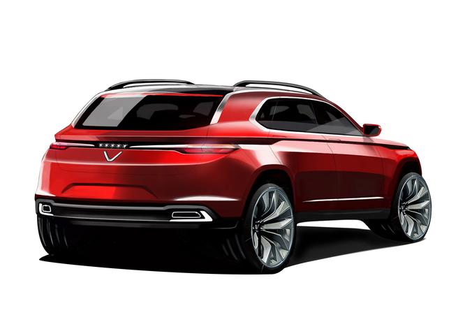 VinGroup công bố 20 mẫu xe hơi thương hiệu VinFast ảnh 38