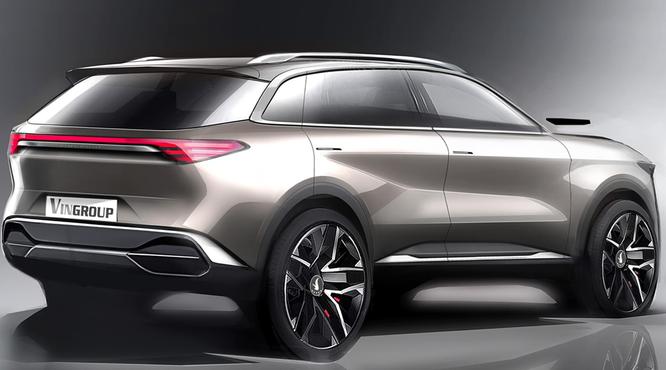VinGroup công bố 20 mẫu xe hơi thương hiệu VinFast ảnh 41