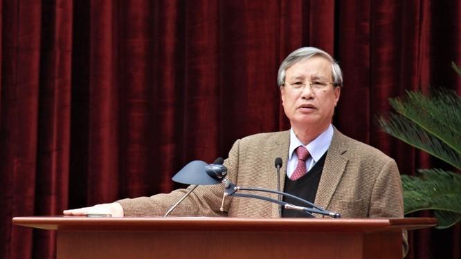 Ông Trần Cẩm Tú làm Chủ nhiệm Ủy ban Kiểm tra Trung ương thay ông Trần Quốc Vượng ảnh 1