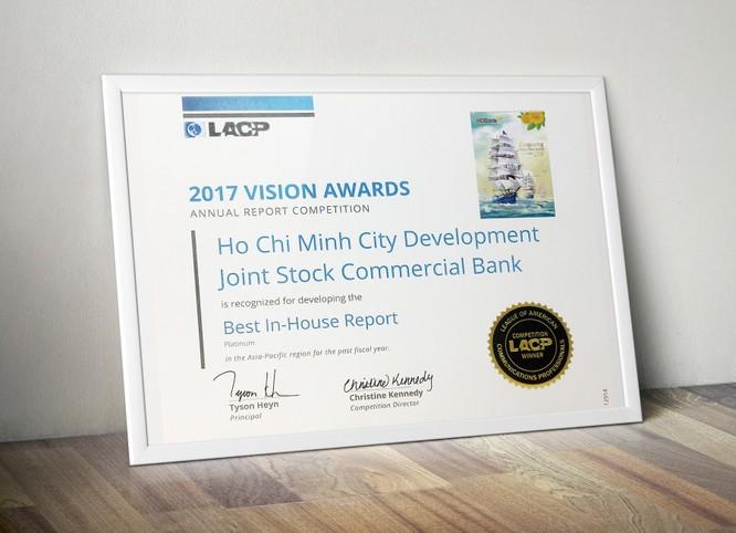 HDBank đoạt giải Bạch kim cuộc thi Vision Award của Hiệp hội Truyền thông chuyên nghiệp Mỹ ảnh 1