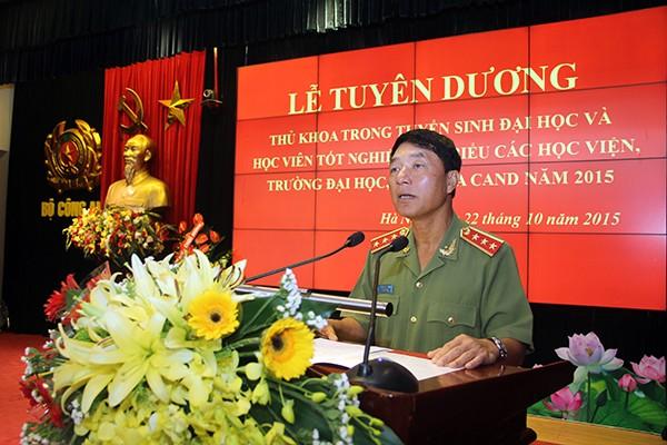 Cách chức thứ trưởng Bộ Công an, đề nghị giáng cấp xuống Đại tá đối với tướng Bùi Văn Thành ảnh 1