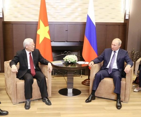 Việt - Nga nhấn mạnh hợp tác quốc phòng - an ninh, khoa học, năng lượng ảnh 1