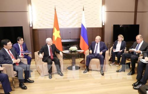 Đẩy mạnh hợp tác toàn diện giữa hai nước và ủng hộ giải quyết các tranh chấp quốc tế bằng biện pháp hòa bình ảnh 2