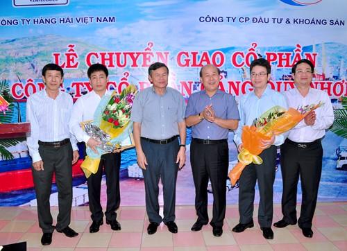 Đòi lại vốn Nhà nước bị bán sai tại Cảng Quy Nhơn, thế kẹt của Khoáng sản Hợp Thành ảnh 1