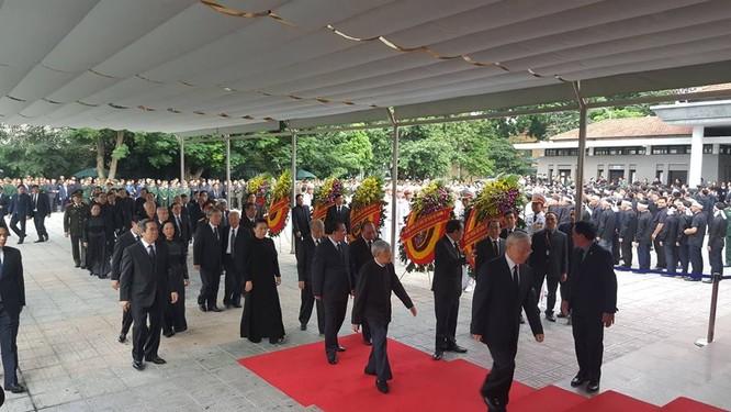 Bắt đầu Lễ Quốc tang Chủ tịch nước Trần Đại Quang ảnh 9