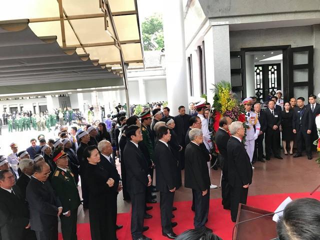 Bắt đầu Lễ Quốc tang Chủ tịch nước Trần Đại Quang ảnh 8