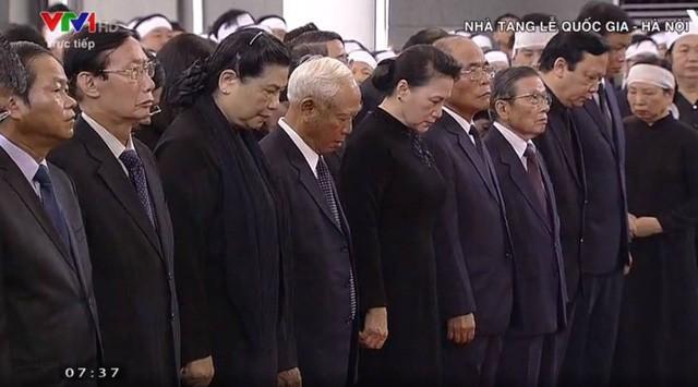 Bắt đầu Lễ Quốc tang Chủ tịch nước Trần Đại Quang ảnh 6