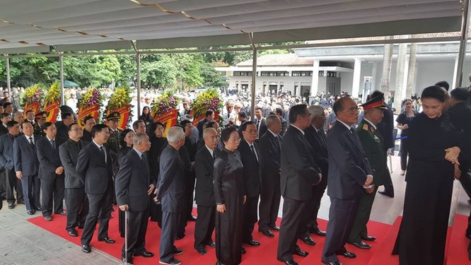 Bắt đầu Lễ Quốc tang Chủ tịch nước Trần Đại Quang ảnh 10