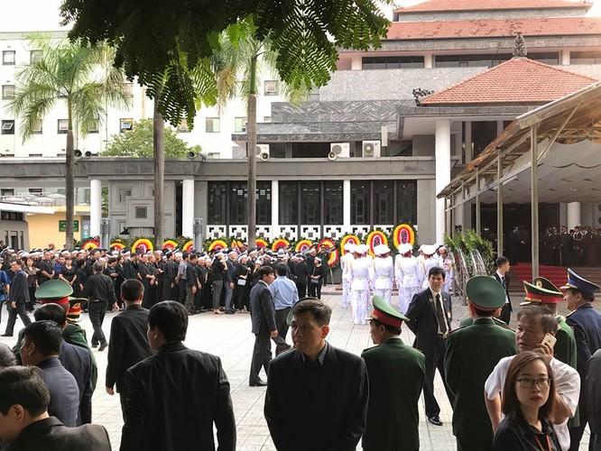 Bắt đầu Lễ Quốc tang Chủ tịch nước Trần Đại Quang ảnh 11