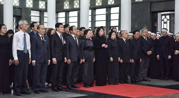 Bắt đầu Lễ Quốc tang Chủ tịch nước Trần Đại Quang ảnh 5