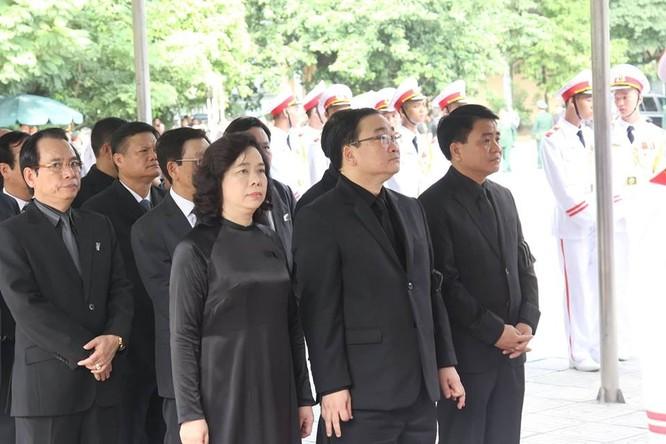 Bắt đầu Lễ Quốc tang Chủ tịch nước Trần Đại Quang ảnh 4