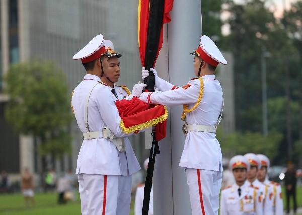 Bắt đầu Lễ Quốc tang Chủ tịch nước Trần Đại Quang ảnh 14