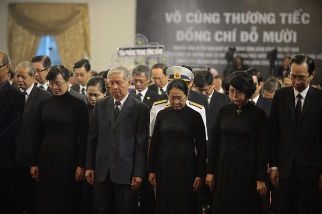 Lãnh đạo Đảng, Nhà nước viếng cố Tổng Bí thư Đỗ Mười ảnh 7