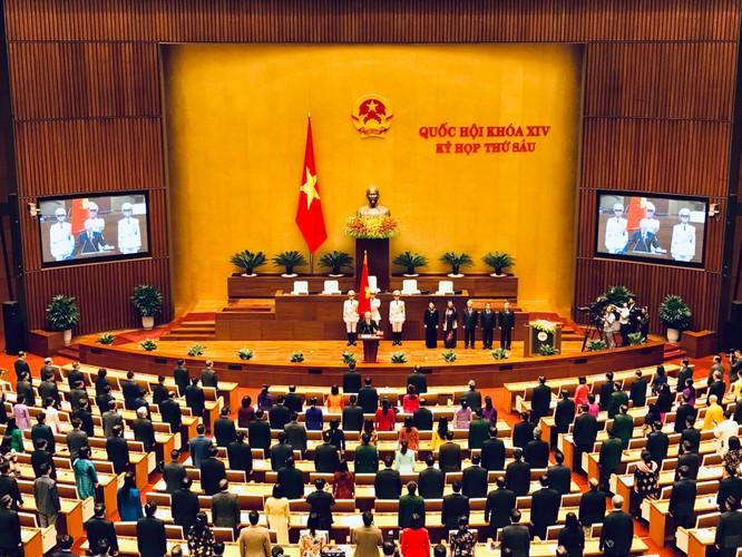 Tân Chủ tịch nước Nguyễn Phú Trọng tuyên thệ nhậm chức ảnh 2