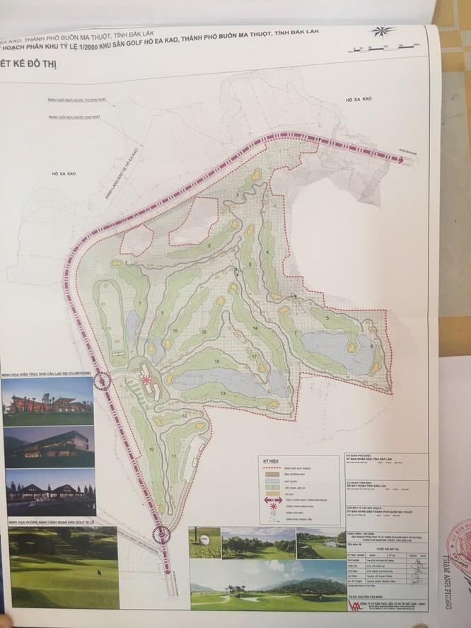 Duyệt quy hoạch khu sân golf và biệt thự hồ Ea Kao 2.000 tỷ đồng ảnh 1