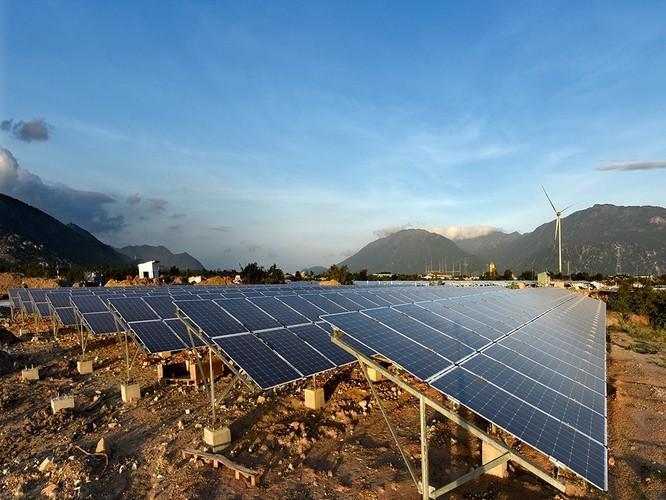 Nhà máy Điện mặt trời Trung Nam tại Ninh Thuận (Nguồn: Trung Nam Group)