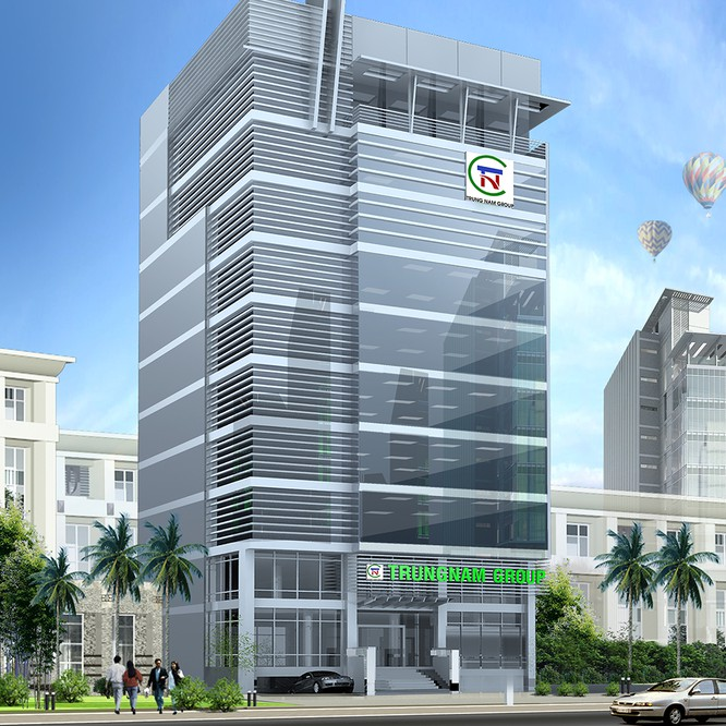 Tòa nhà TrungNam Group tại TP Hồ Chí Minh (Nguồn: Trung Nam Group)
