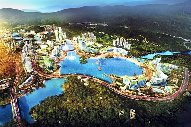 Phối cảnh quy hoạch chi tiết khu phức hợp cao cấp Vân Đồn (Nguồn: quangninh.gov.vn)
