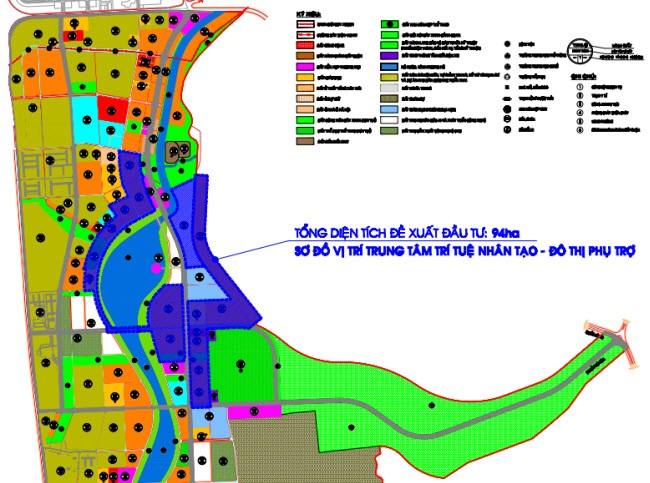 Ranh giới khu đất thực hiện dự án (Nguồn: binhdinhinvest.gov.vn)