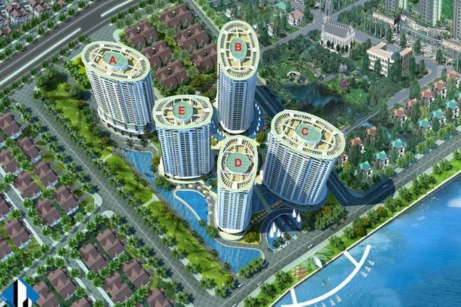 Phối cảnh dự án Sông Đà Riverside của Quốc Cường Gia Lai