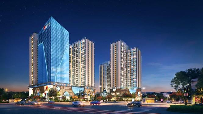 Dự án Hinode City tại 201 Minh Khai, Hà Nội (Nguồn: Vietracimex)