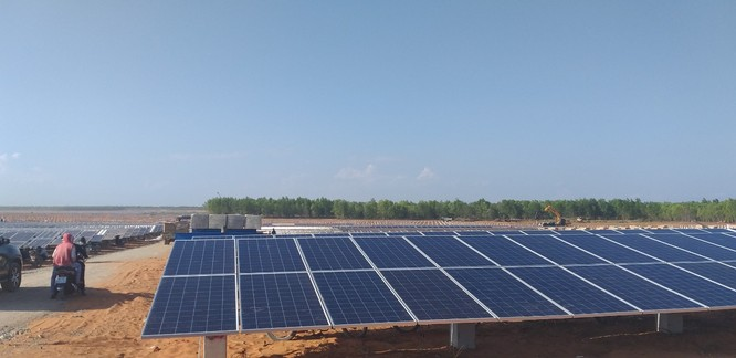 Nhà máy điện mặt trời Hồng Phong 1B