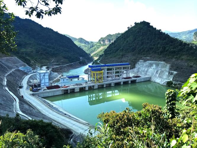 Nhà máy thủy điện Bắc Mê, huyện Bắc Mê, tỉnh Hà Giang (Nguồn: Vietracimex)