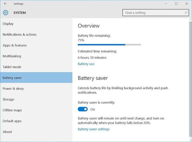 3 mẹo đơn giản kéo dài thời gian sử dụng pin laptop ảnh 4