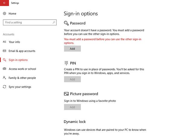 Hướng dẫn đặt mã PIN để đăng nhập nhanh chóng vào Windows 10 ảnh 1