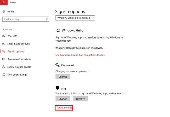 Hướng dẫn đặt mã PIN để đăng nhập nhanh chóng vào Windows 10 ảnh 3