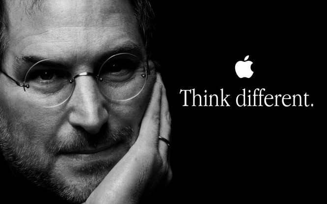 Slogan nổi tiếng đã gắn bó với thương hiệu Apple từ trước tới nay.
