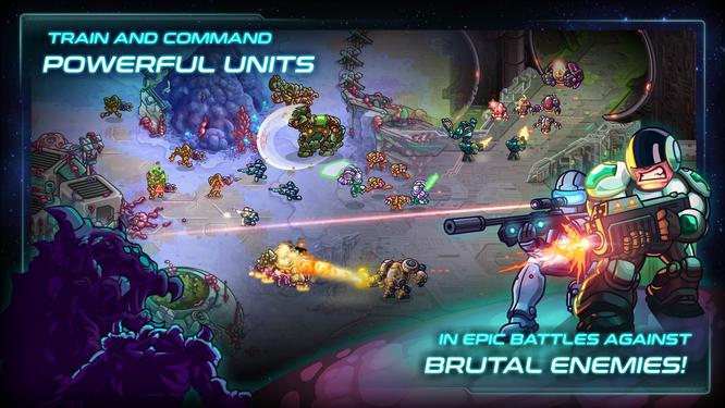 Hình ảnh của Iron Marine. Nguồn: PlayStore