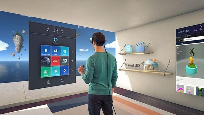Dự án hệ thống thực tế kết hợp của Microsoft(Mixed Reality)