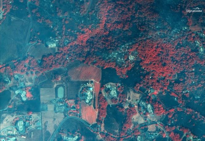 Hình ảnh được ghi lại bở vệ tinh GeoEye-1 vào thứ 4(11/10)