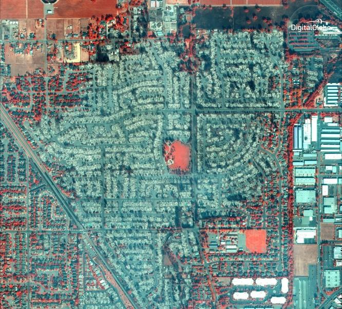 Thảm họa cháy rừng ở California nhìn từ vệ tinh ảnh 8