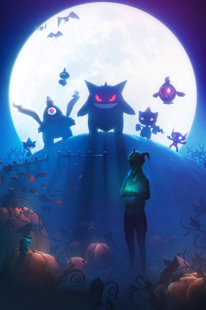 Hình ảnh của sự kiện Halloween 2017 rò rỉ trong phiên bản Pokemon Go 0.79.2.