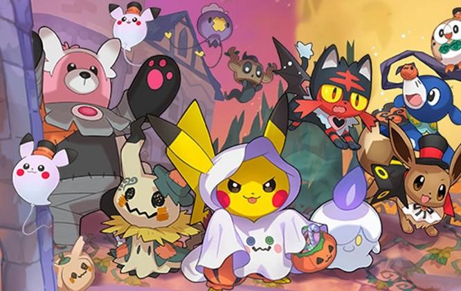Hình ảnh giới thiệu cho sự kiện Halloween của Pokemon Go