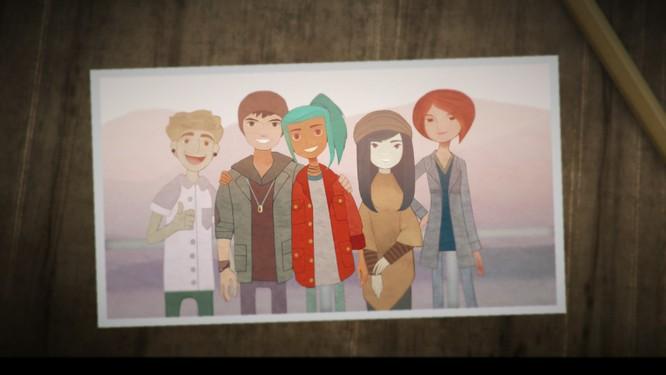 Nhóm bạn 5 người cùng tham gia vào cuộc hành trình. Nguồn: gamingrebellion