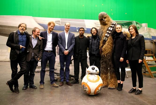 Hai hoàng tử Vương quốc Anh: Harry và William sẽ xuất hiện trong Star Wars: The Last Jedi. Nguồn: Smooth Radio