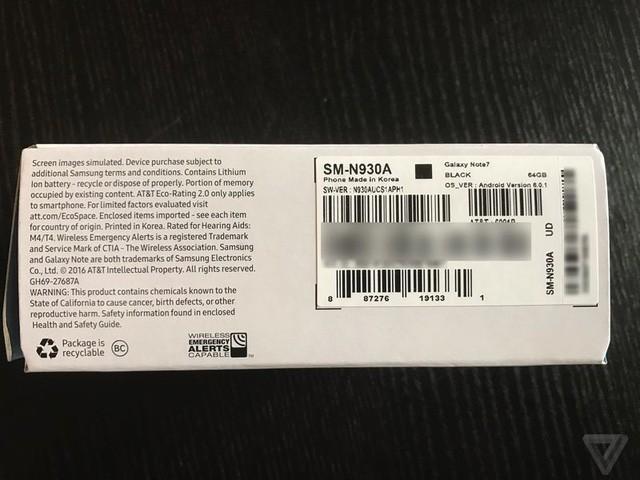 """Samsung lại gặp """"hạn"""" vì Note7 mới vẫn bốc cháy ngay trên máy bay ảnh 1"""