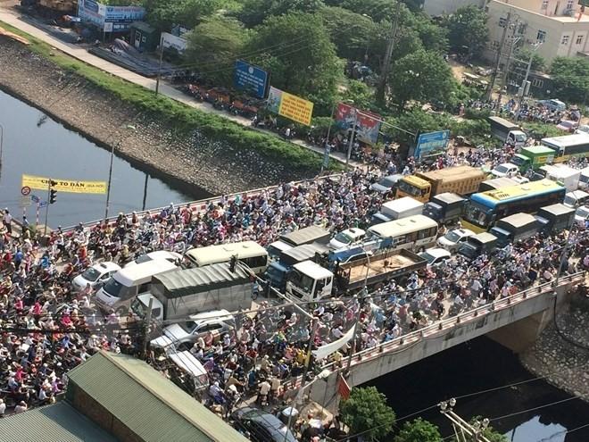 """""""Tương lai ùn tắc giao thông không phải bài toán khó của Hà Nội"""" ảnh 1"""