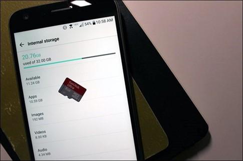 Mẹo giải phóng không gian lưu trữ trên thiết bị chạy Android ảnh 1