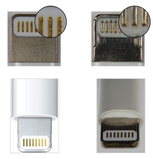 Cách nhận biết dây sạc iPhone, iPad chính hãng ảnh 1