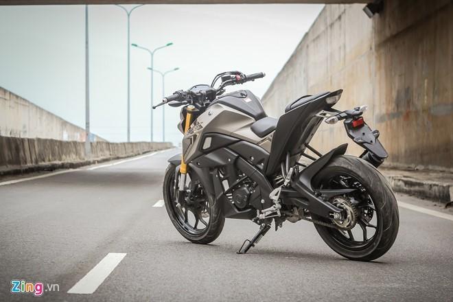 Yamaha TFX 150 naked bike không đối thủ tại Việt Nam ảnh 3