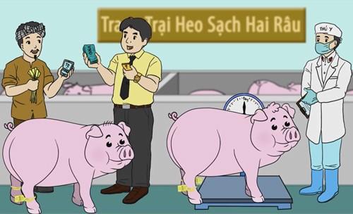 TP HCM: Dùng smartphone tìm cửa hàng bán thịt sạch ảnh 1