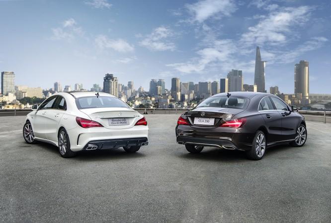 """Thế hệ nâng cấp của Mercedes-Benz CLA chính thức """"xuất trận"""" tại Việt Nam ảnh 3"""