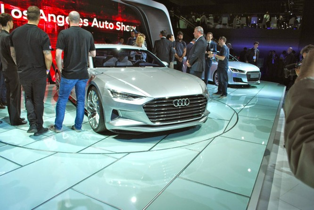 Phác hoạ đầu tiên về Audi A6, A7, A8 thế hệ mới ảnh 1